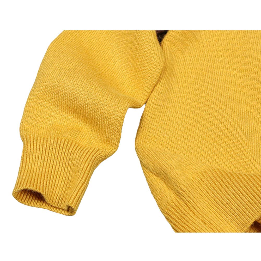 Digirlsor Toddler Baby Girls Sweaters Kids Boys Warm Knitted Pullover Cute Cartoon Woolen Sweater,1-6 Years