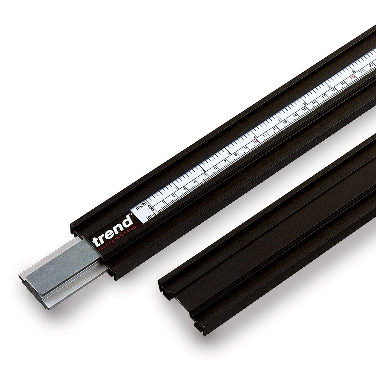Trend VJS/G/100 2.54 m Varijig System Straight Guide - Black U*VJS/G/100