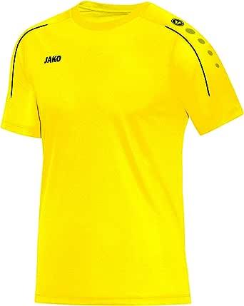 JAKO T-shirt för män, Classico, nightblue/citro, 3XL, 6150