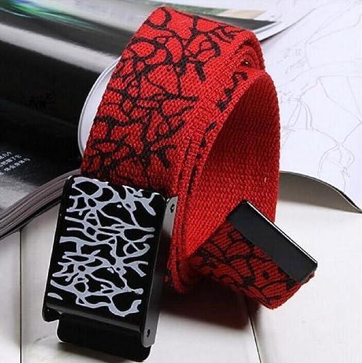 Fami Ceintures automatique boucle carrée taille Strap Sport Toile Pour  Adultes (Blanc)  Amazon.fr  Vêtements et accessoires 3dd71b780cb
