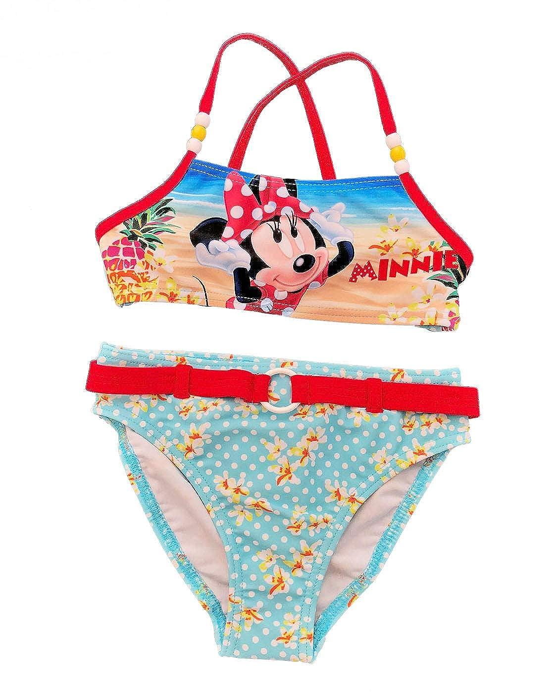 Minnie - Traje de Dos Piezas - para niña 4 años: Amazon.es ...
