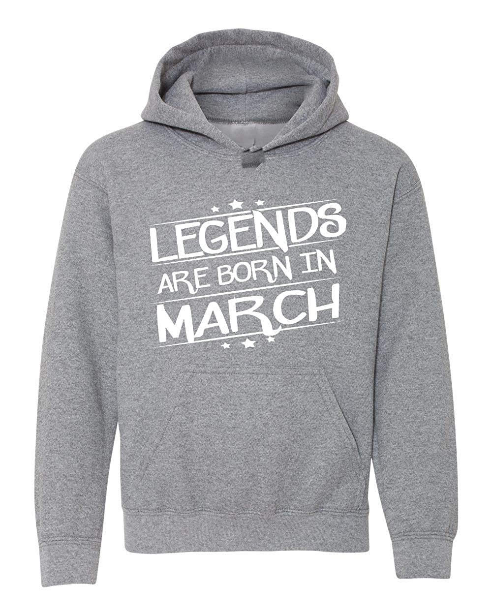 Marky G apparel Boys Legends Are Born In March T-Shirt