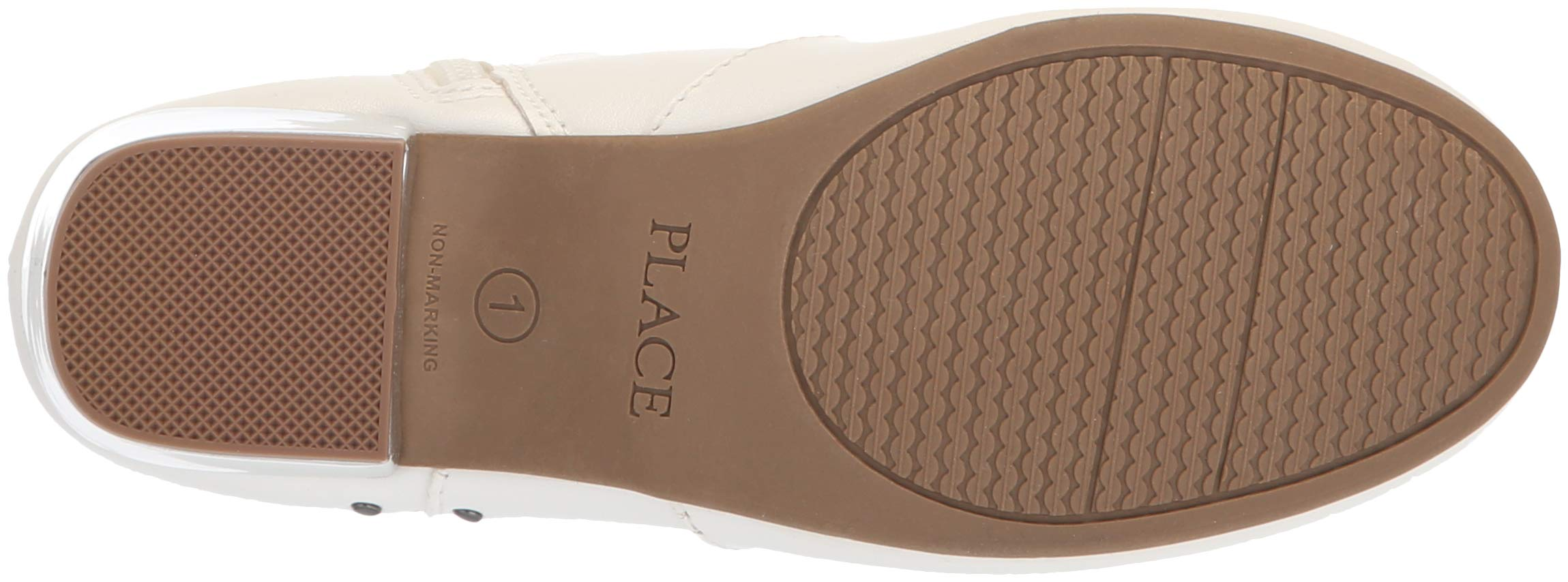 The Children's Place Girls' Bootie Fashion Boot, White, Youth 3 Child US Little Kid by The Children's Place (Image #3)