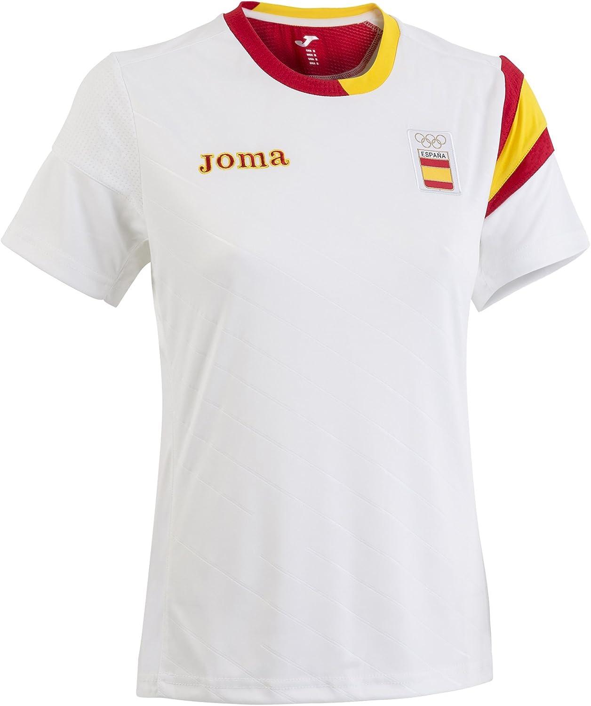 Joma CE.101011W16 Camiseta, Hombre, Blanco, XS: Amazon.es ...