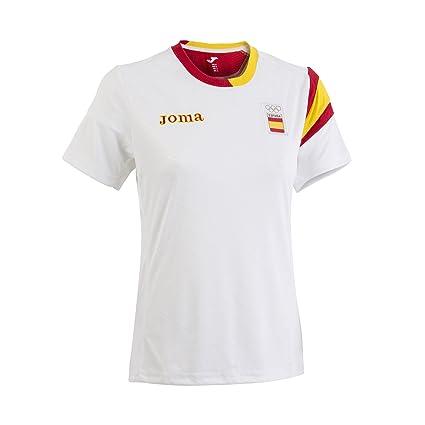 Joma CE.101011W16 Camiseta, Hombre, Blanco, XS