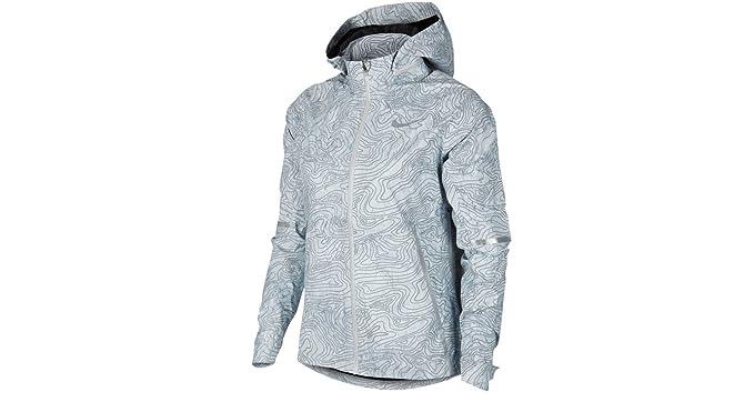 the latest eb27b 7b739 Nike Zonal AeroShield Solstice Women s Running Jacket (S, Cool Grey Cool  Grey
