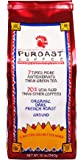 Puroast Low Acid Coffee Organic French Roast Ground Coffee, 12 Ounce Bag