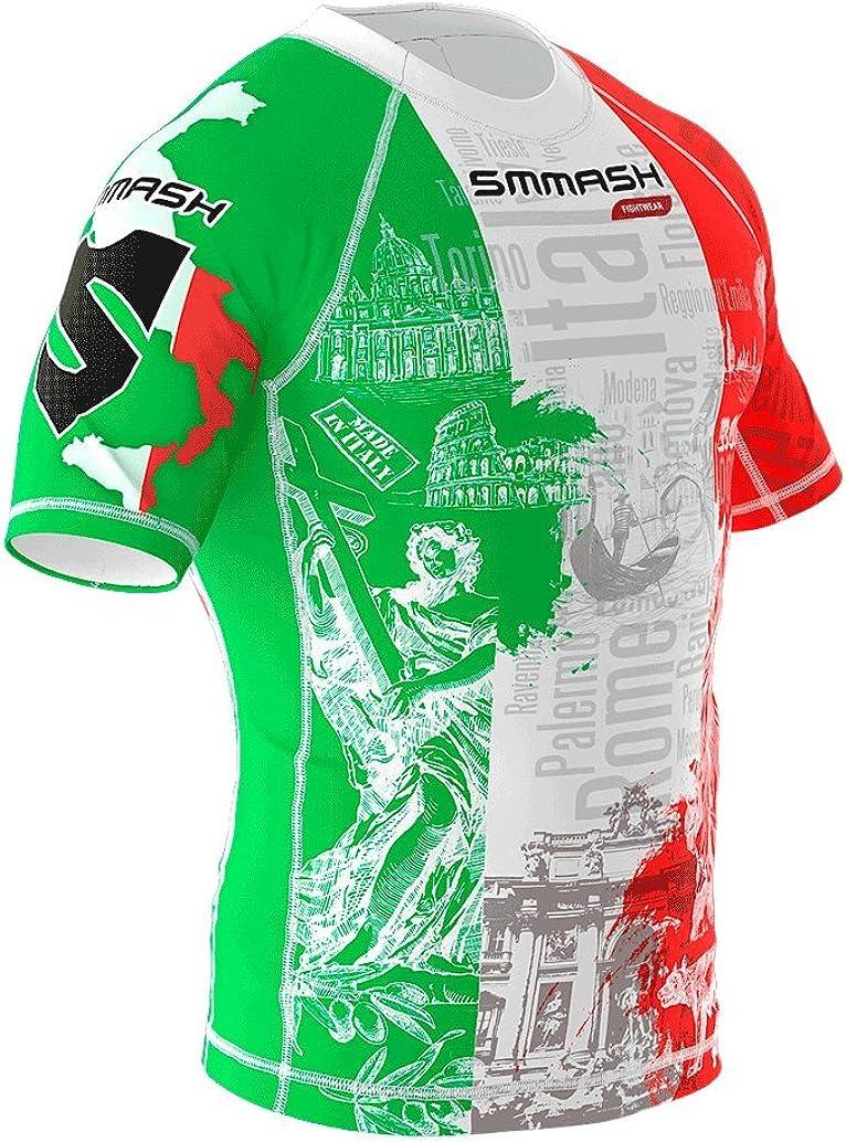 SMMASH Rashguard ITALY MMA BJJ UFC Kampfsport K1