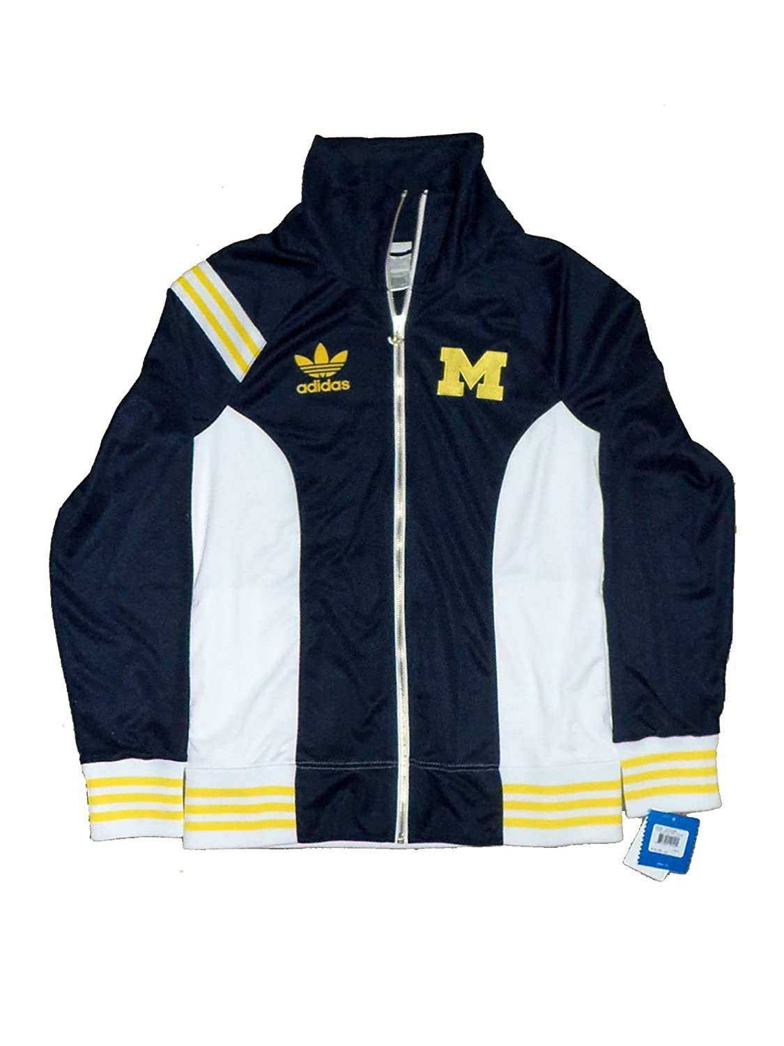 factory price picked up buying now University of Michigan Wolverine Officially Licensed Women's Shawl Collar  Track Jacket