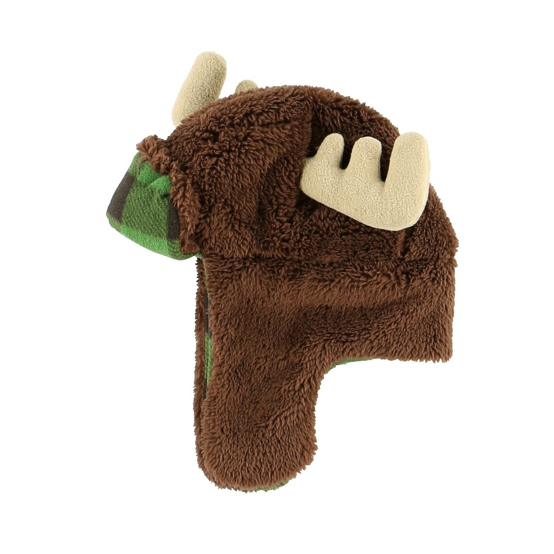 LazyOne Unisex Moose Critter Cap Kids