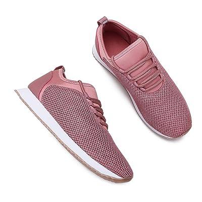Pt&Hq Women's Lightweight Breathable Mesh Sneakers, Comfortable Anti Slip Walking Running Sports Shoes, Athletic Casual Walking Sneakers | Walking