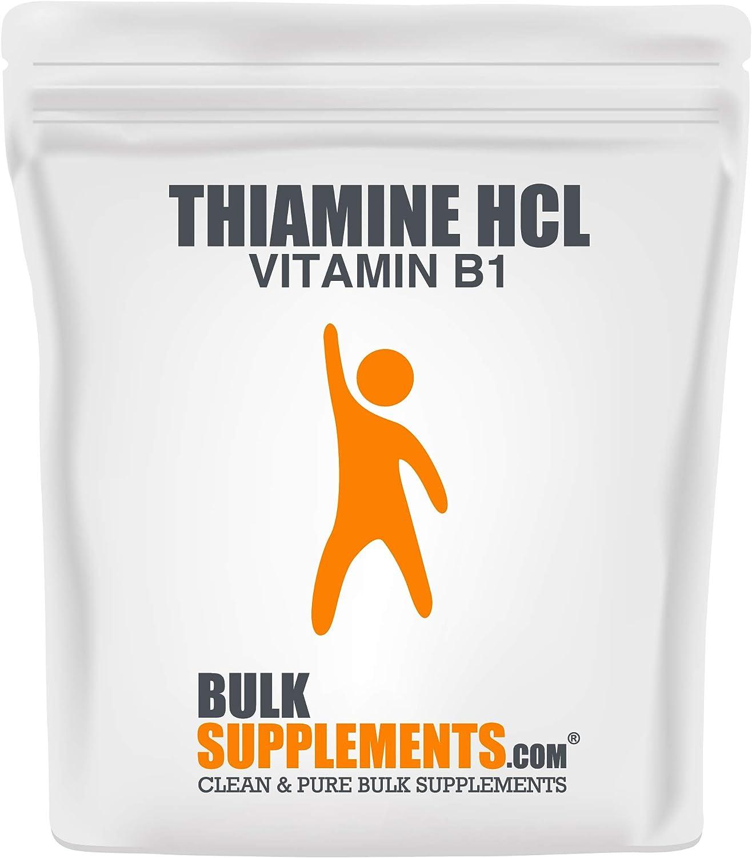 BulkSupplements Thiamine HCL (Vitamin B1) Powder (500 Grams)