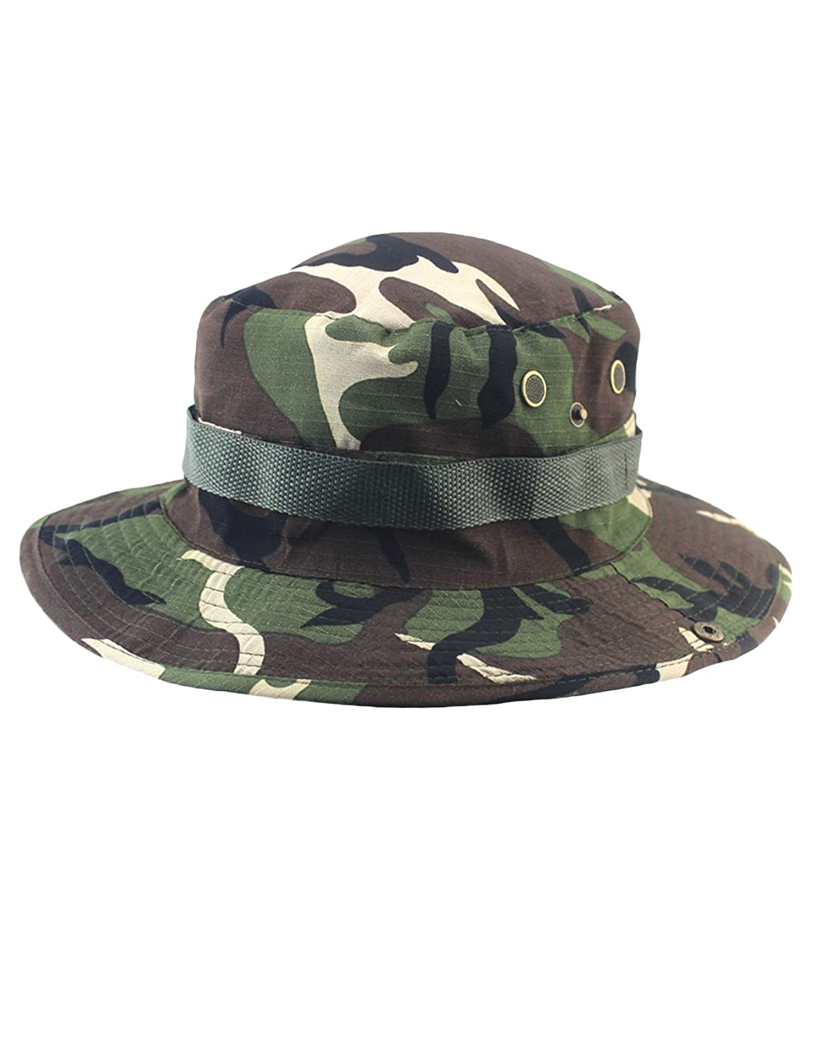 newrong Men's Outdoor Camouflage Sun Hat XZMYWJ0304-12