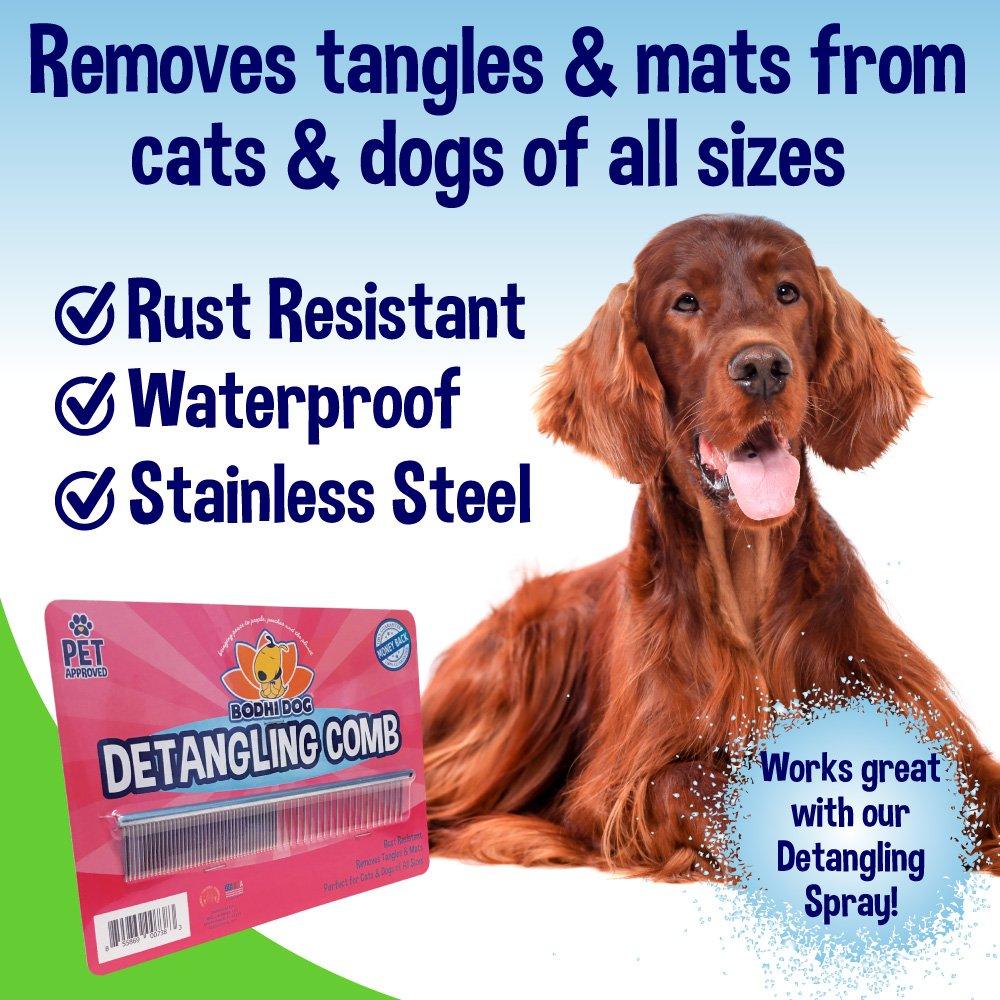 Premium Detangling Comb For Dogs Cats Detangler Grooming