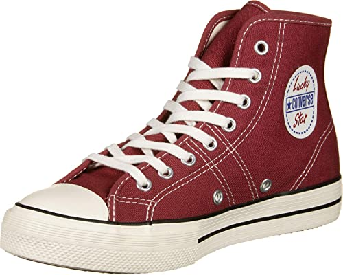 Converse | Chuck Taylor Lucky Star Hi Top Red | Royalcheese