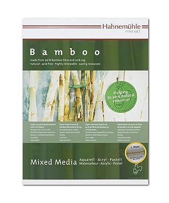 10628540 Bambus Mixed Media Pad 265 Gsm Amazon De Gewerbe