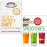 The Body Reset Diet 2 Books Collection Set (The Body Reset Diet by Harley Pasternak & The Body Reset Diet Smoothies)