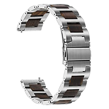 TRUMiRR For Samsung Galaxy Watch 46mm Watchband, 22mm Stainless ...