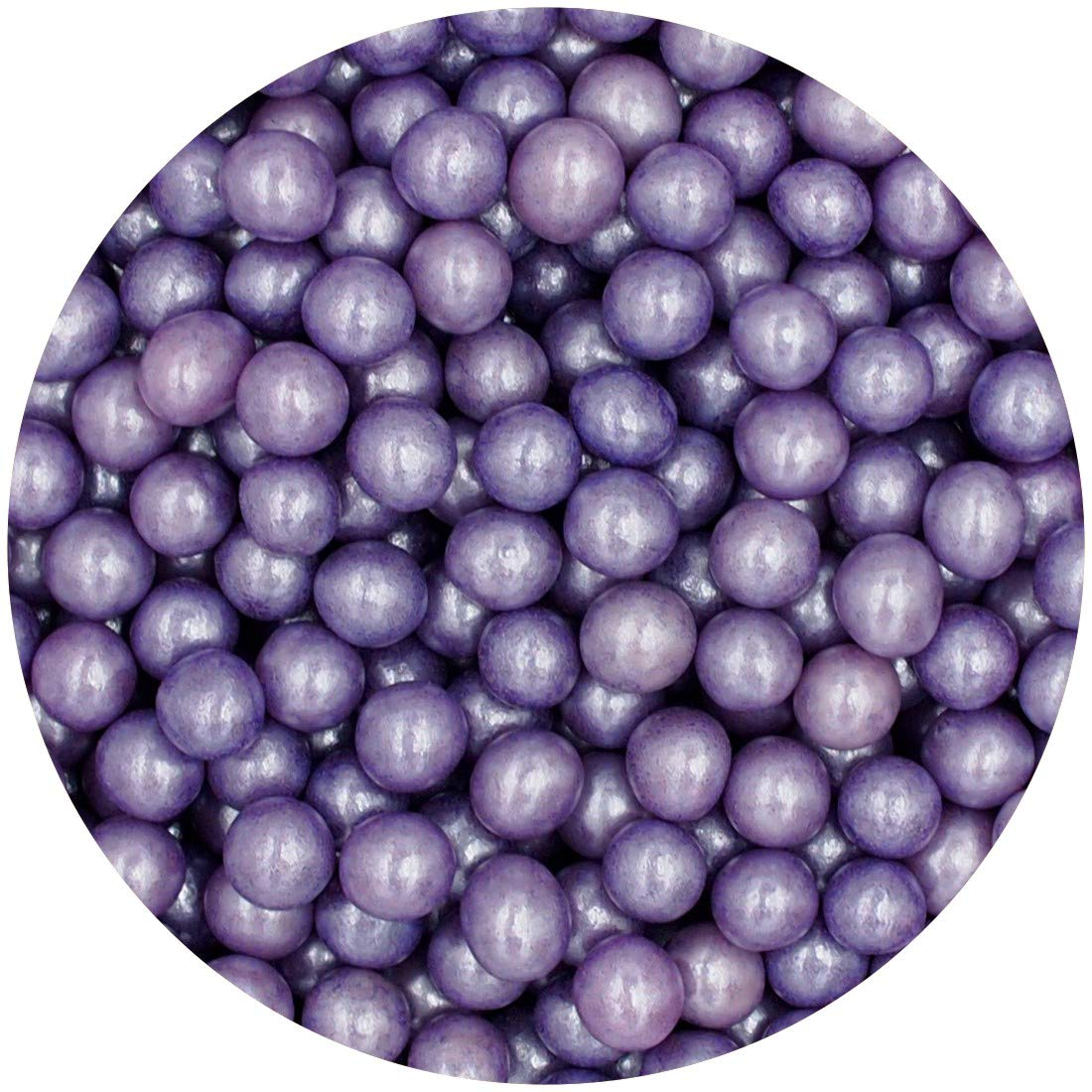 Natural 8mm Purple Nuts Dairy Soy Gluten GMO Free shimmer Pearls Bulk Pack