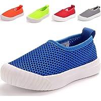DADAWEN Unisex Kids Boys Girls Loafer Flats Lightweight Slip-On Shoes