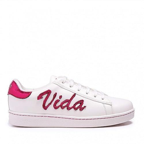 Xyon Revolution VLVPREMIUM Sneakers Zapatilla Deportiva con Cordones Mujer: Amazon.es: Zapatos y complementos