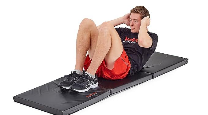 Amazon.com: York Fitness esterilla plegable para Ultimate ...