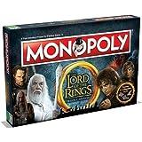 Winning Moves Gioco da Tavolo - Monopoly Lord of the Rings Edizione da Collezione Versione Italiana, 02394