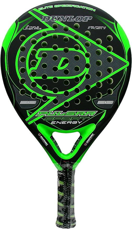Pala de pádel Dunlop Pulsar Sport Energy Green: Amazon.es ...