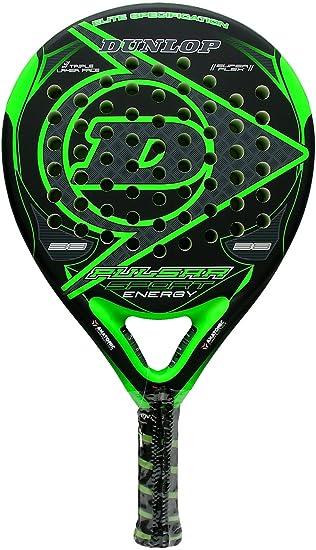 Pala de pádel Dunlop Pulsar Sport Energy Green: Amazon.es: Deportes y aire libre