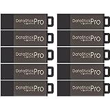 Centon DSP8GB10PK 10 x 8GB MultiPack DataStick Pro USB 2.0 Flash Drives (Grey)