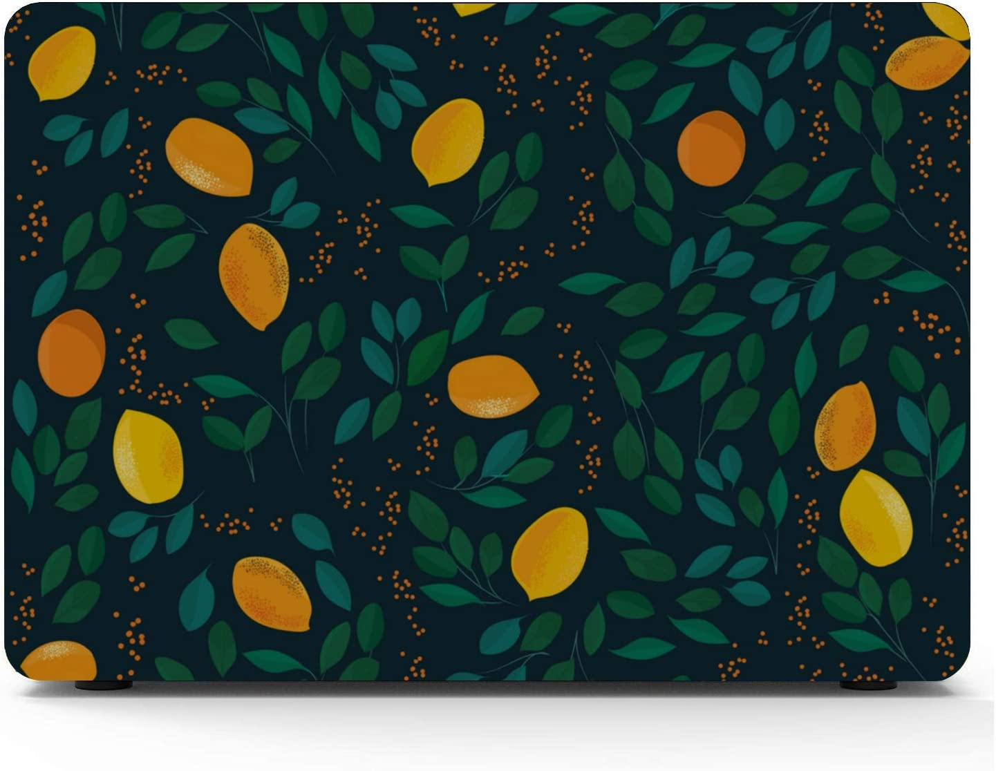 MacBook Accessories Case Summer Fruit Grapefruit Green Leaf Plastic Hard Shell Compatible Mac Air 11 Pro 13 15 Case MacBook Pro Protection for MacBook 2016-2019 Version