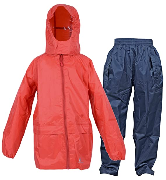 6e575fc43 DRY KIDS Waterproof Suit - Comprising of Packaway Jacket and Over ...