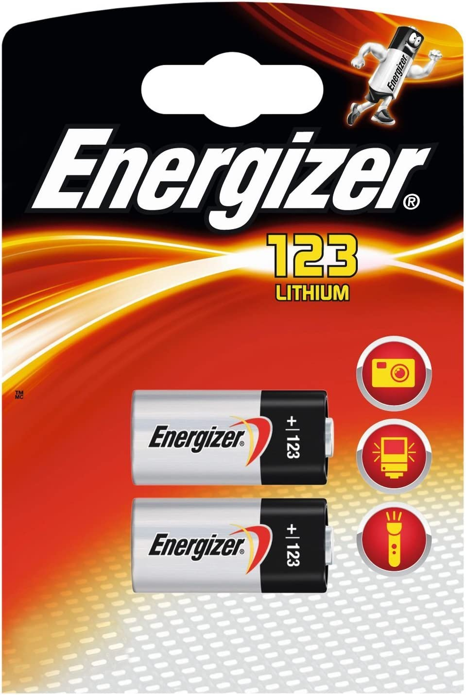 Energizer Lithium Batterien Cr123 3 V 12 Stück Elektronik