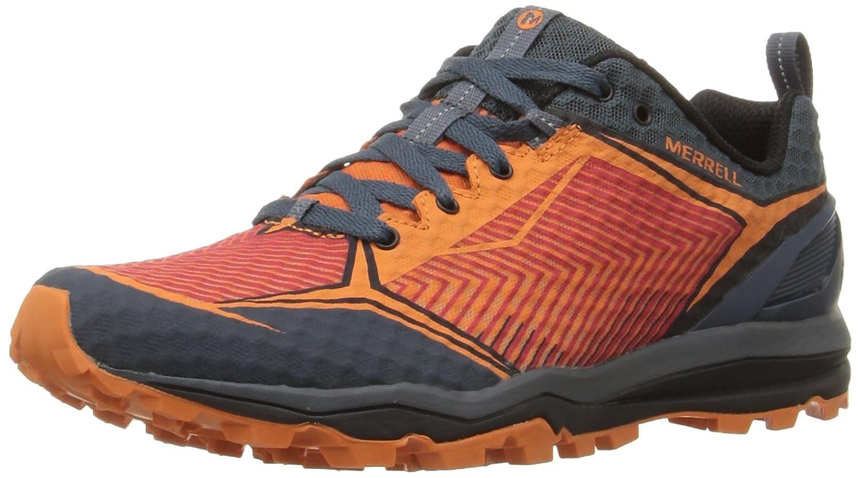 Merrell Men's All Out Crush Shield Trail Runner B0193RDQMO 9 D(M) US|Orange