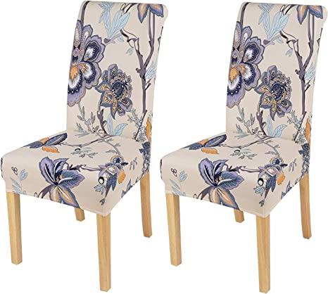 Dining Chair Seat Covers Spandex Slip Banquet Home Protective Stretch Covers EL