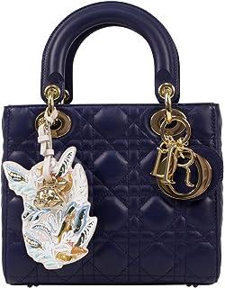 Amazon.com  Christian Dior Lady Dior Leather W Attachable Strap Mini ... b6f57b08b5e01