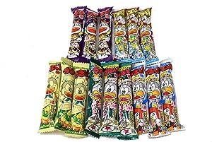 Umaibo, Japanese popular snack food, 15 packs(5 taste×3 packs) No.a335