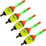 5 Piece THKFISH EVA Floats +10pcs Stick Glow Fishing Floats Luminous Lighting EVA Foam Floats
