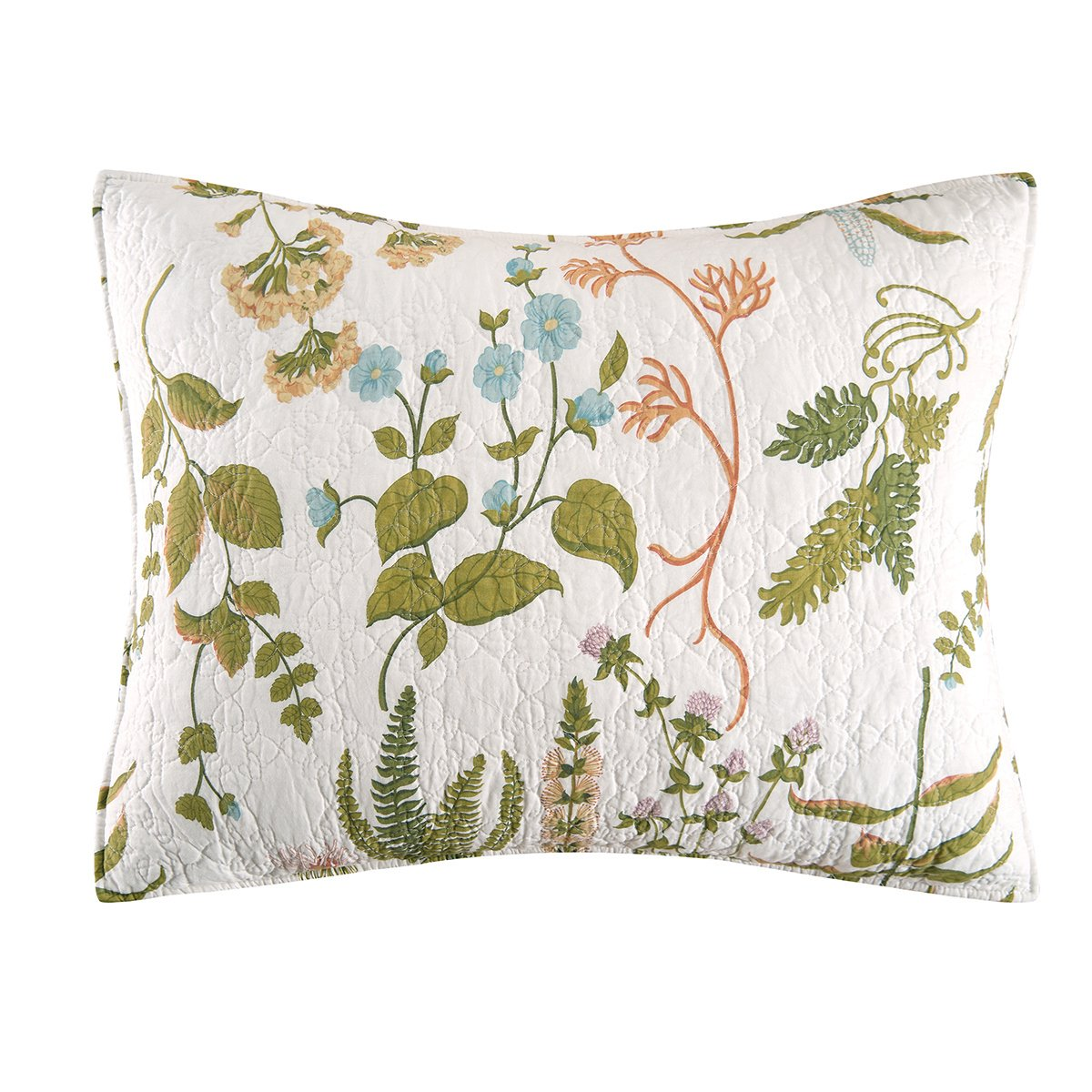 C&F Home Anessa Standard Sham, Green by C&F Home