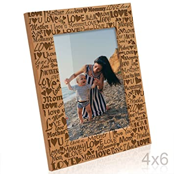Amazoncom Kate Posh I Love You Mom Mother Mommy Picture Frame