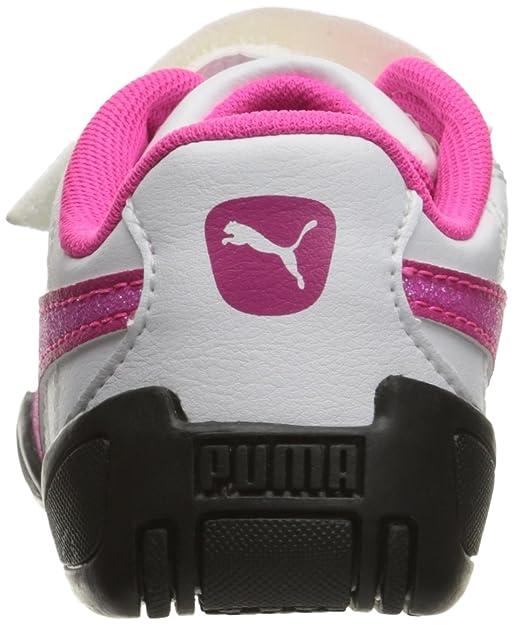 7988b14b7f17a PUMA Kids' Tune Cat 3 Glitter V Inf Sneaker