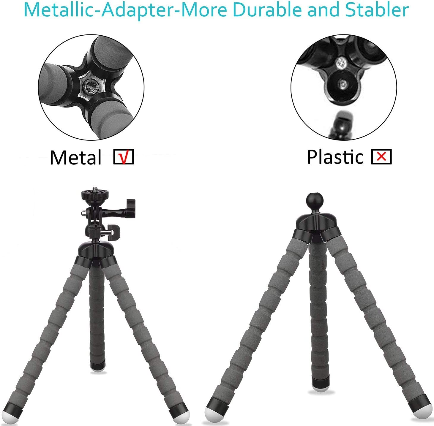 CYcaibang Camera Stand FTL-76 76mm Highschool Precision Add-On Offset Bubble Spirit Tier Plate for Tripod Ball Head