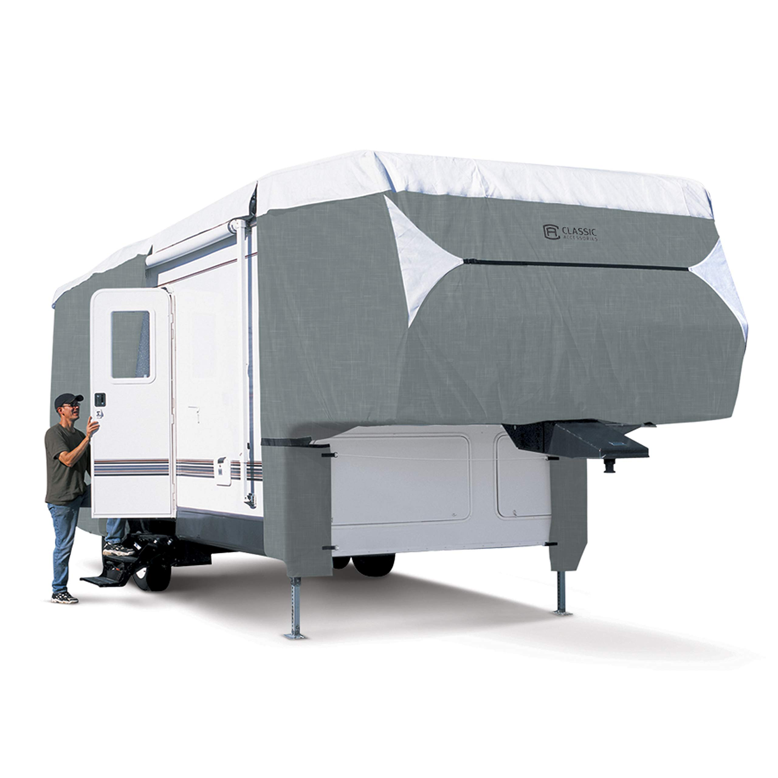 Classic Accessories OverDrive PolyPro 3 Deluxe Cover for 41'1'' to 44' 5th Wheel Trailers