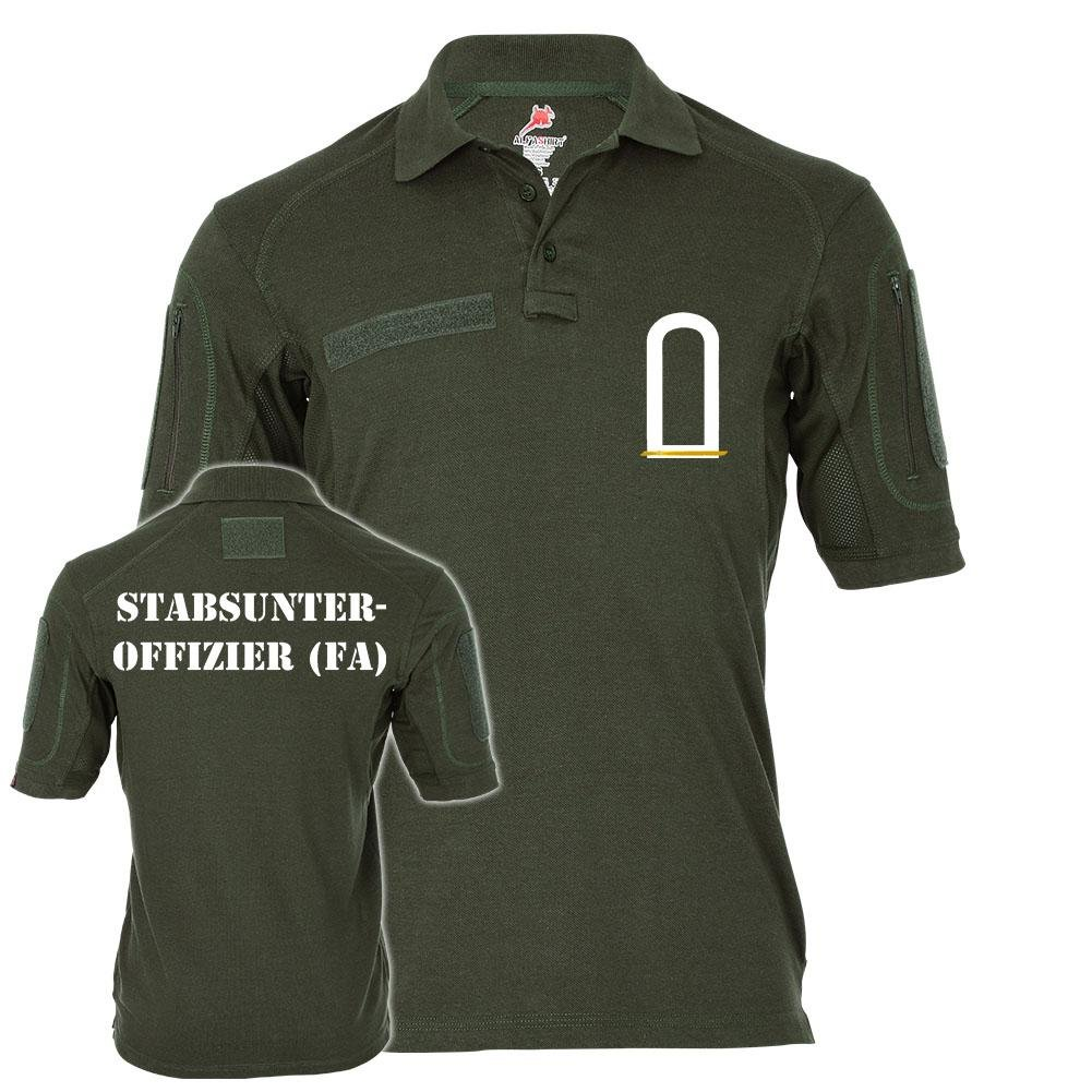 Tactical Polo Stabsunteroffizier FA Stuffz Bundeswehr Feldwebel-Anwärter Lehrgang Einheit Hemd Alfashirt  21628