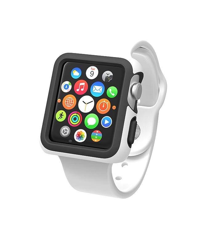 Speck CandyShell Fit Funda Negro, Blanco - Accesorios de Relojes Inteligentes (Funda, Negro, Blanco, Apple, Watch (Series 1)): Amazon.es: Informática