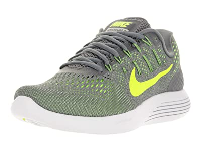 Nike Mens Lunarglide 8 Running Shoes Size 9.5 Cool Grey