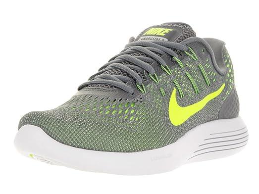Nike Men's Lunarglide 8 Cool Grey/Volt Anthracite Running Shoe 8.5 Men US