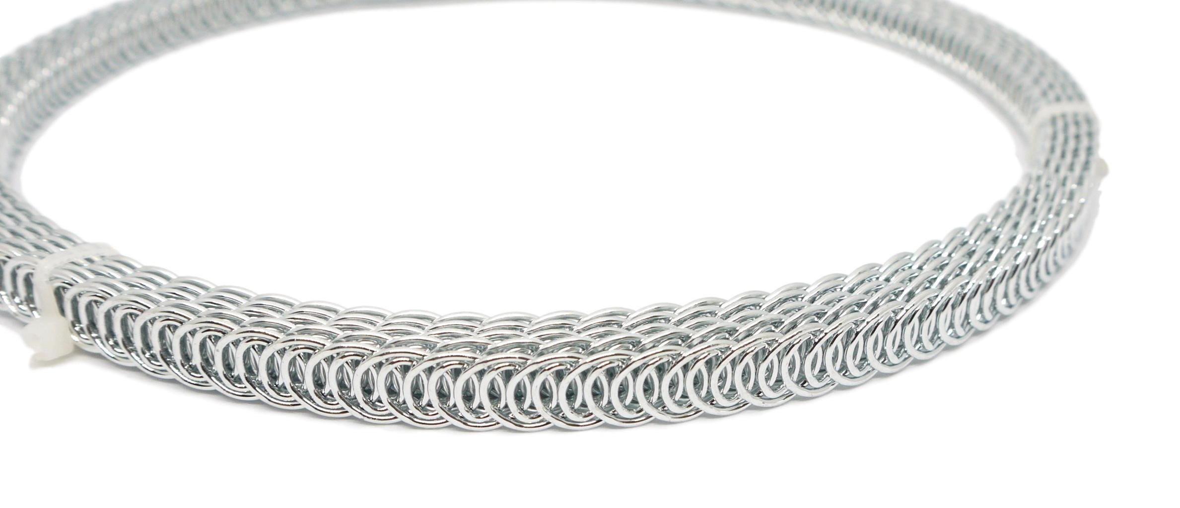 Porcelynne Spiral Galvanized Steel Boning Coil 1/2'' Wide - Roll of 9.5 feet by Porcelynne