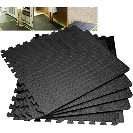 4/8/12/16/20/24 Interlocking Eva Foam Mats Tiles Gym Play Garage Workshop Floor: Amazon.co.uk: Kitchen & Home