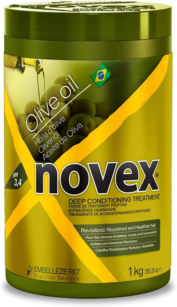Novex Aceite de Oliva, Mascarilla Capilar 1kg